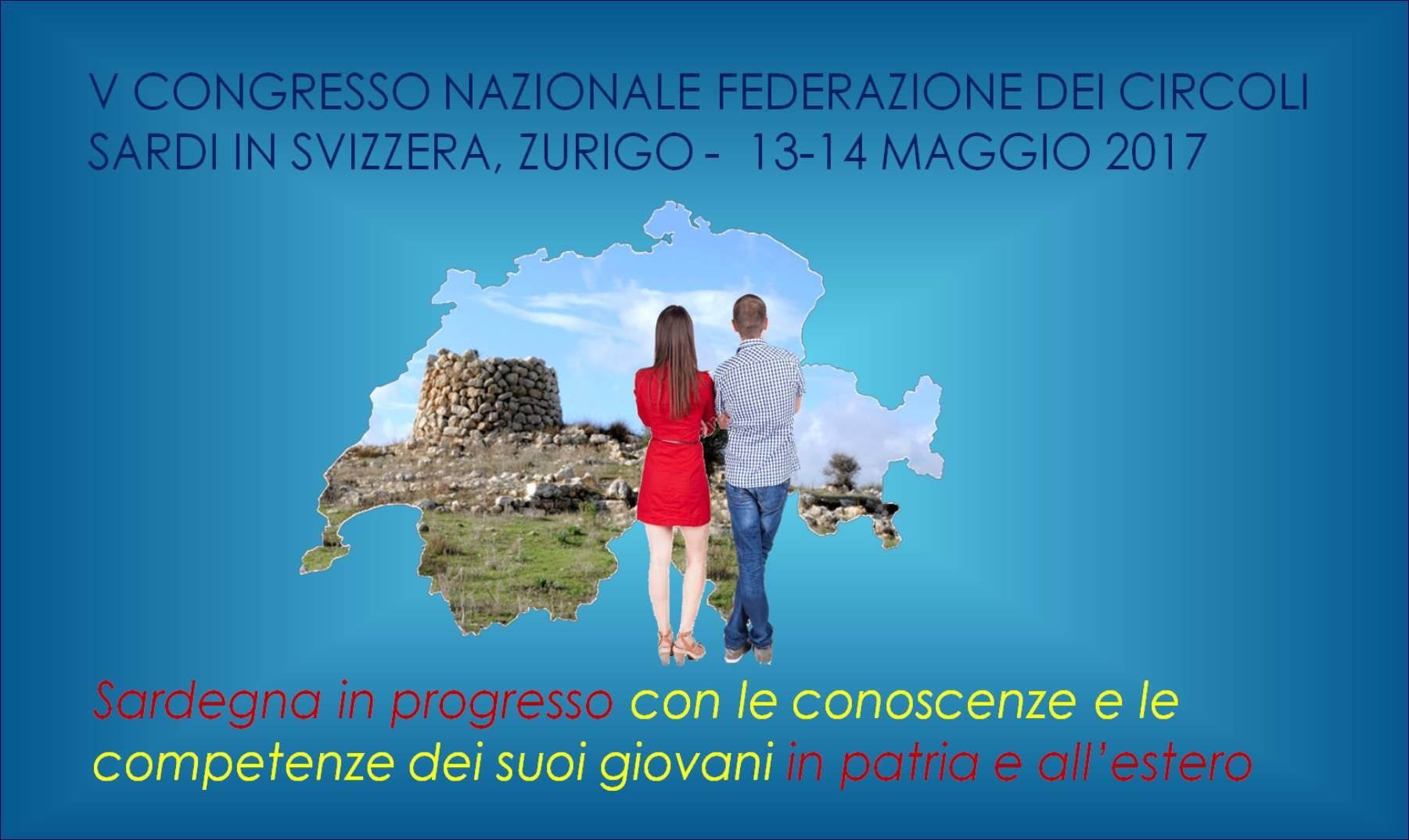 V Congresso Nazionale Federazione Circoli Sardi in Svizzera